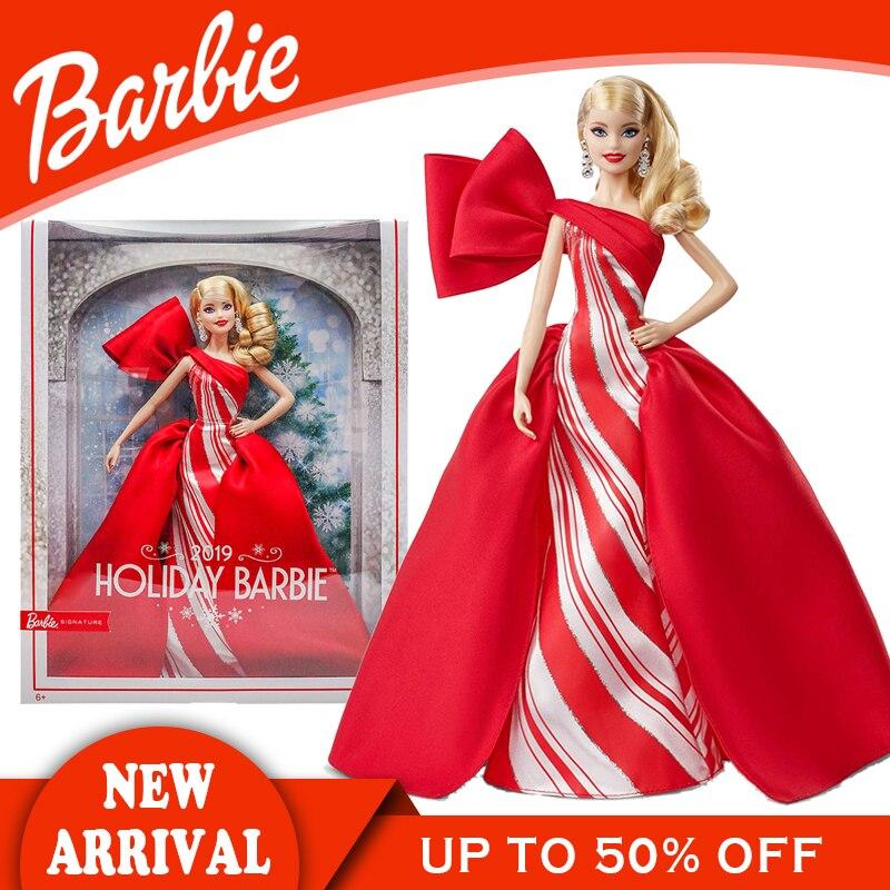 Caja Original de muñecas Barbie para niñas, juguetes de chico Blone para...