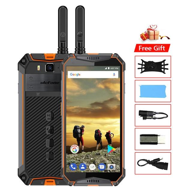 "Ulefone Power 3WT IP68 Водонепроницаемый мобильный телефон Android9.0 5,7 дюйм 21MP Helio P70 Octa Core NFC 10300 мА/ч, иди и болтай Walkie Talkie"" иди и 4G смартфон"