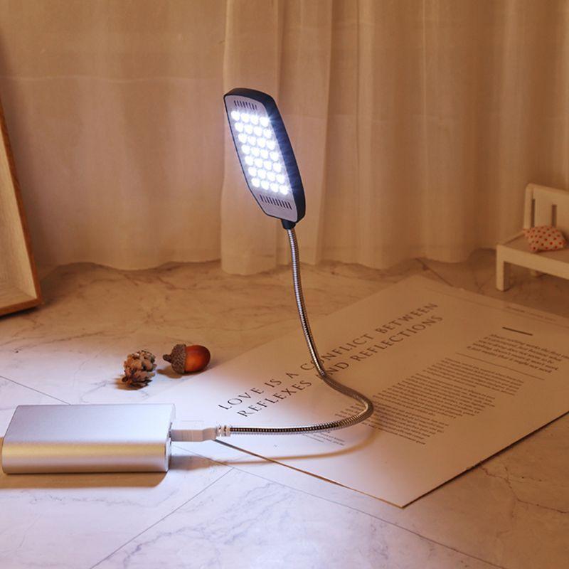 28 LED LED USB Mini Flexible Light Laptop Desktop PC Desk Reading with Button 40JE