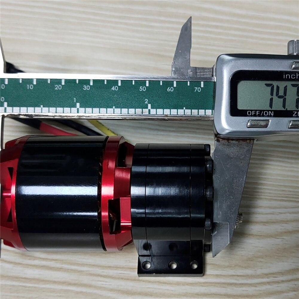 Bomba de alta potencia de aceite hidráulico con Motor sin escobillas 4250 bomba de engranajes de modificación de coche para remolque Tamiya 1/14 RC