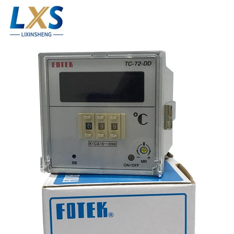 Fotek TC72-DD-R3 ذكي درجة الحرارة تحكم ترموستات منظم