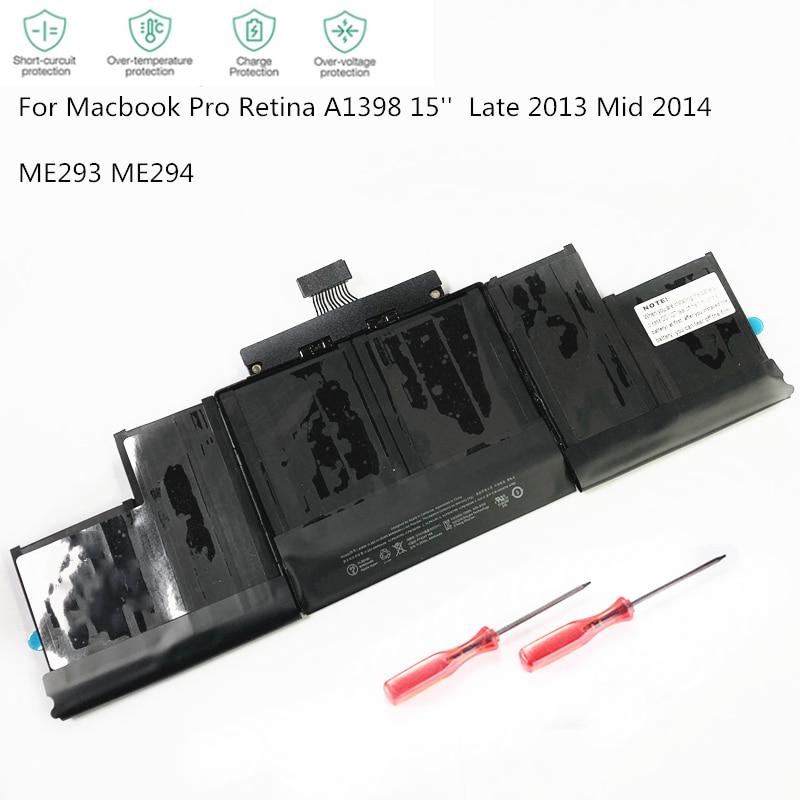بطارية الكمبيوتر المحمول HKFZ A1494 ، لجهاز APPLE MacBook Pro 15