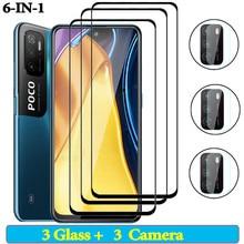 Poco M3 Pro 5G стекло Смартфоны поко x 3 про поко м3 про очки Pocco M3 X3 стекло Poco x 3 nfc покоФ3 поком3про Защитное стекло для Xiaomi poco m3 poko f3 poco X3 Pro Защитная пленка для экрана,покофон Ф3 м3 поко x3 про