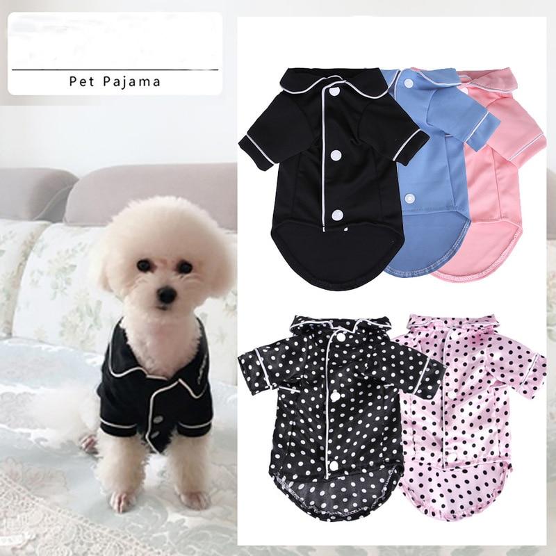 Ropa de verano para perro mascota, Mono para perro, pijama de perrito para gato, ropa rosa para mascota, traje de diseñador para perros Pitbull Chihuahua, triangulación de envíos