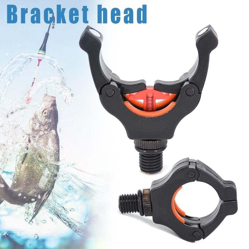 Nouvellement canne à pêche repose tête pince canne à pêche porte-dosette avec Clips magnétiques pour garder la canne à pêche