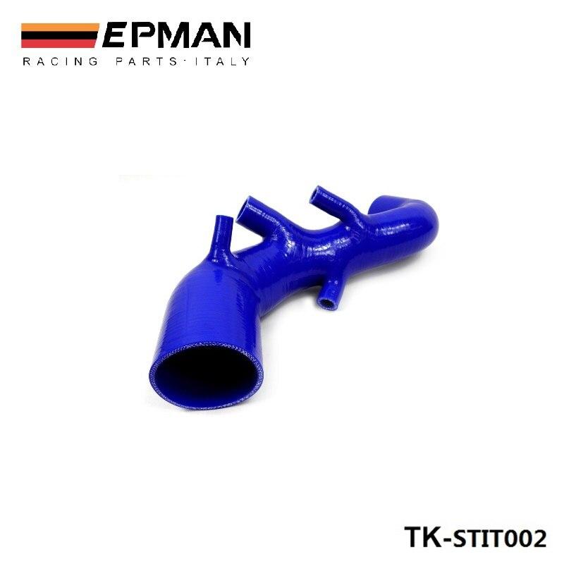 Kit de manguera de tubo de inducción Turbo boost de silicona para asiento León Cupra R 1,8 T 225 (1 Unidad) EP-STIT002