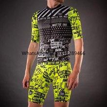 2020 summer wattie ink men pro team racing training team cycling clothing road bike jersey sets cycle umiforme gel bib shorts