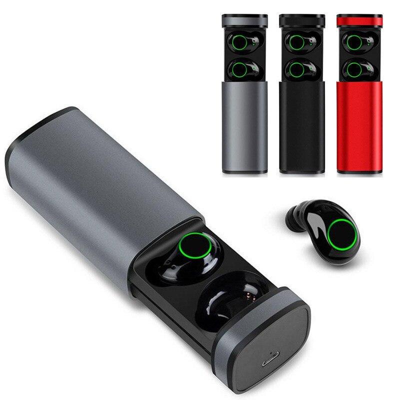 Neue X23 TWS Bluetooth Kopfhörer Tragbare Drahtlose mini Kopfhörer Mit Lade Box 3 farbe entscheidungen