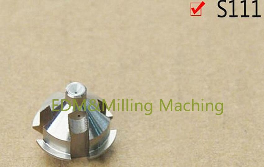 سلك إدم آلة S111 4451771 العلوي والسفلي أسلاك منحرفة الشكل دليل ESE111 0.105-0.310 مللي متر ل نك سيبو آلة EF-F/K/K1 خدمة