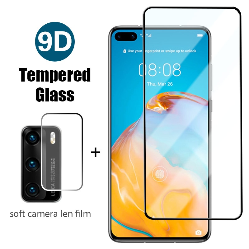 HD Front+Back Tempered Glass On Huawei Y9 Y7 Y6S Y5 2019 Y9a Y9S Screen Protector On Huawei Y8p Y8S