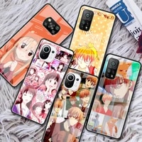 fruits basket kyo sohma glass phone case for xiaomi redmi note 9s 8 9 8t 7 9c capa for mi 10t pro 9t 10 lite tempered cover