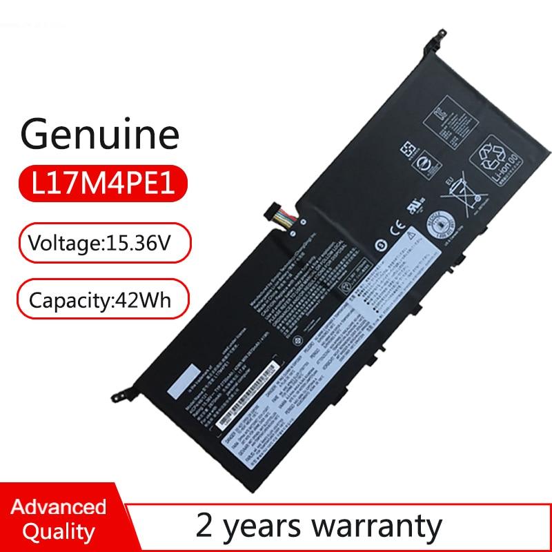 حقيقية L17M4PE1 L17S4PE1 L17C4PE1 بطارية كمبيوتر محمول لينوفو اليوغا S730-13IWL ، ينوفو 730S-13IW 5B10R32749 5B10R32748 81J0001GGE