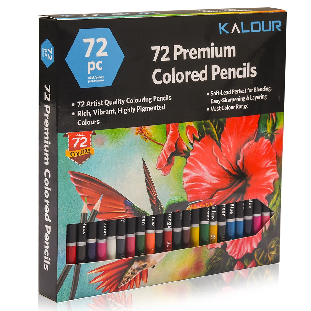 Фото - 72 Color Painting Colored Pencil Special Painting Tool for Beginners  Graffiti Drawing Pencil Art Set for Drawing Cute Pencils stabilo wooden colored pencils 2606803 colored pencil for boys and girls children sets