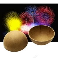 1000 hemisphere 3inch display shell paper for fireworks birthday professional pyrotechnic party supplies wedding festival event