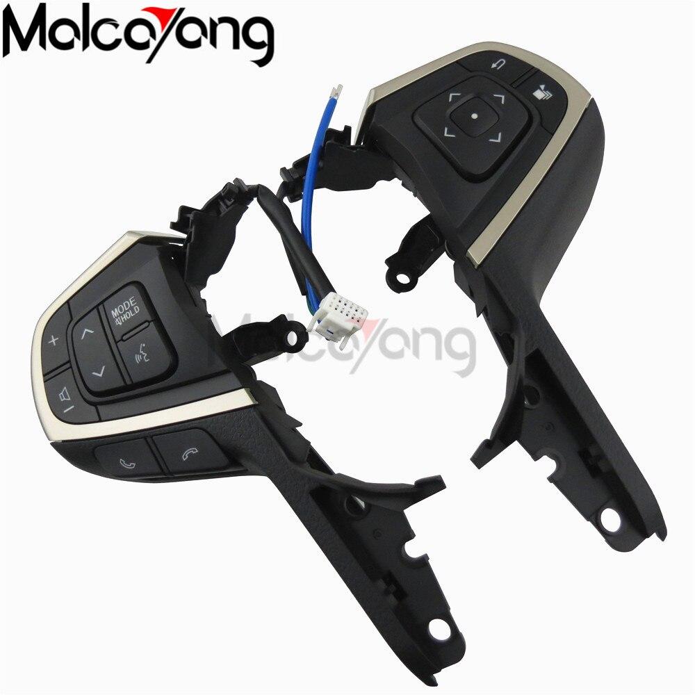 Para Control remoto del volante del canal de volumen de Control de crucero Toyota Innova