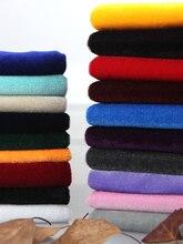 100CM * 160CM or velours tissu épaissi noir et rouge velours affichage tissu rideaux étals nappes DIYApparel couture tissu