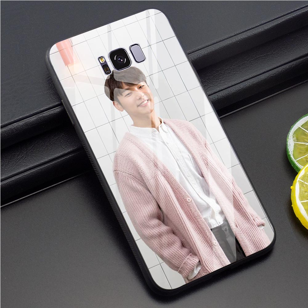 Kang Min Hyuk cubierta del teléfono para Samsung Galaxy S10 caso S7 borde S8 S9 más A70 A60 M40 A50 A40 A20 A30 A10 de vidrio