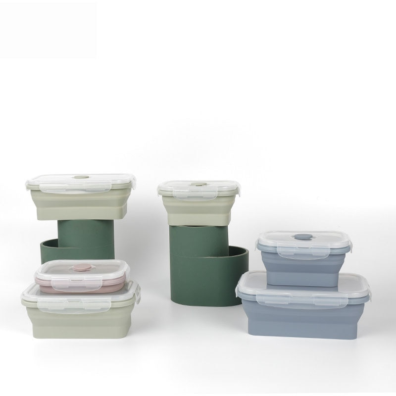 Lancheira de plástico com refrigerador para bentô, recipiente alimentar por refrigeração alimentar, portátil para piquenique