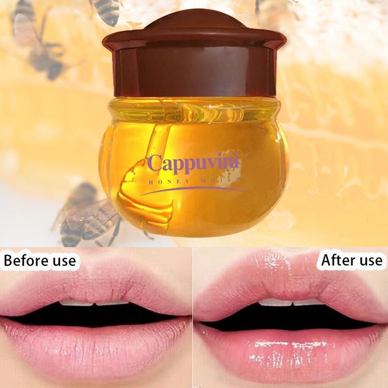 Moisturizing Lip Gloss Propolis Lip Balm Nourishing Lip Anti-wrinkle Lip Unisex Lip Lip Care Anti-cracking Honey Makeup Car Y7W7
