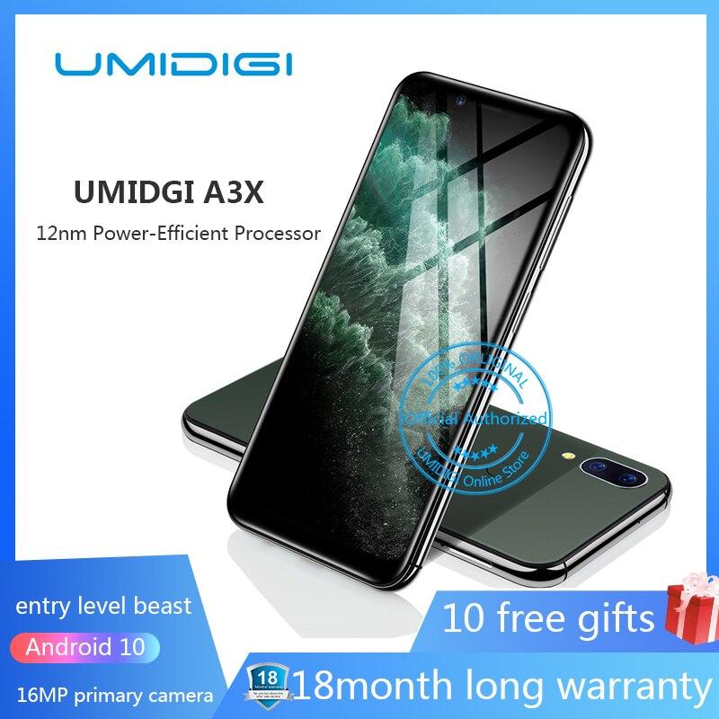 "UMIDIGI A3 Pro 5,7 ""19:9 Pantalla Completa smartphone 3 GB + 32 GB Android 8,1 12MP + 5MP teléfono móvil Dual 4G GSM + FHD + OTG celular desbloqueado teléfono cuatro nucleos FHD gsm Android 4g gsm Android 4g"