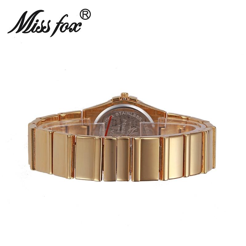 MISSFOX Ladies Watches 2019 Luxury Silver Casual Dress Watch Bling Steel Weave Diamond Big Dial Clock Quartz Gift To Girlfriend enlarge