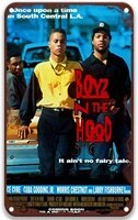 boyz n the hoodstylevintage movies metal tin signs poster plate painted for country home decor farmhouse home wall