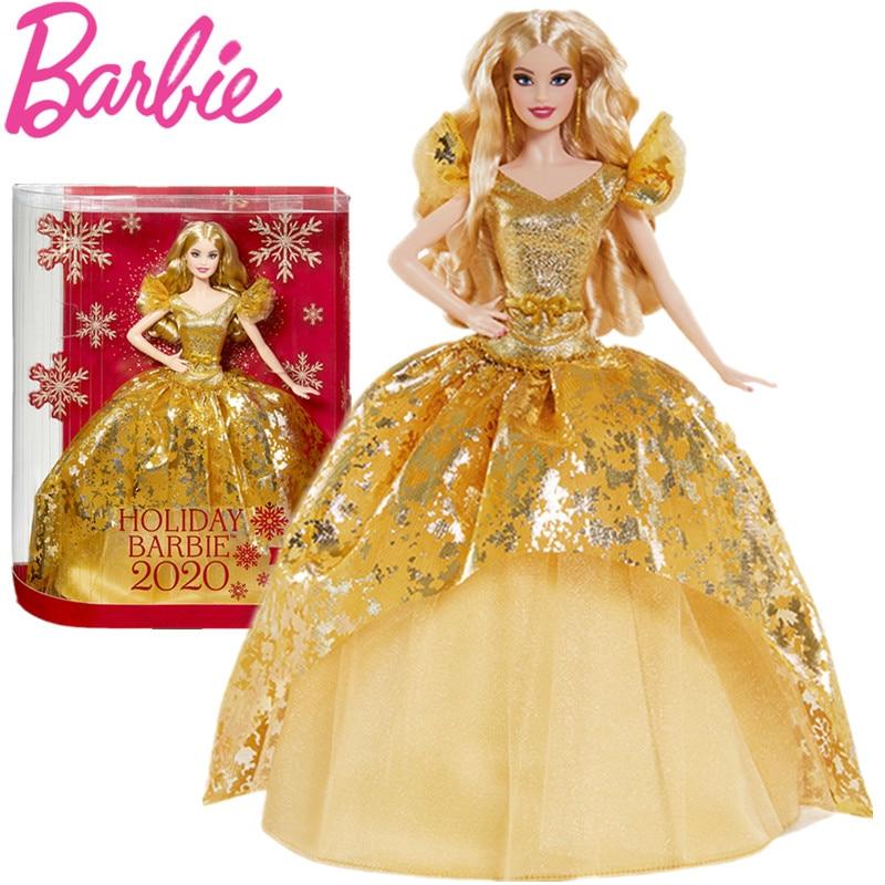 Muñecos de coleccionista de Barbie para niñas, juguetes originales de edición de...