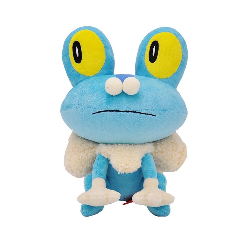 Genuíno elf pokemon boneca brinquedo de pelúcia macio elf pet pokemon boneca froakie sapo crianças aniversário presentes natal