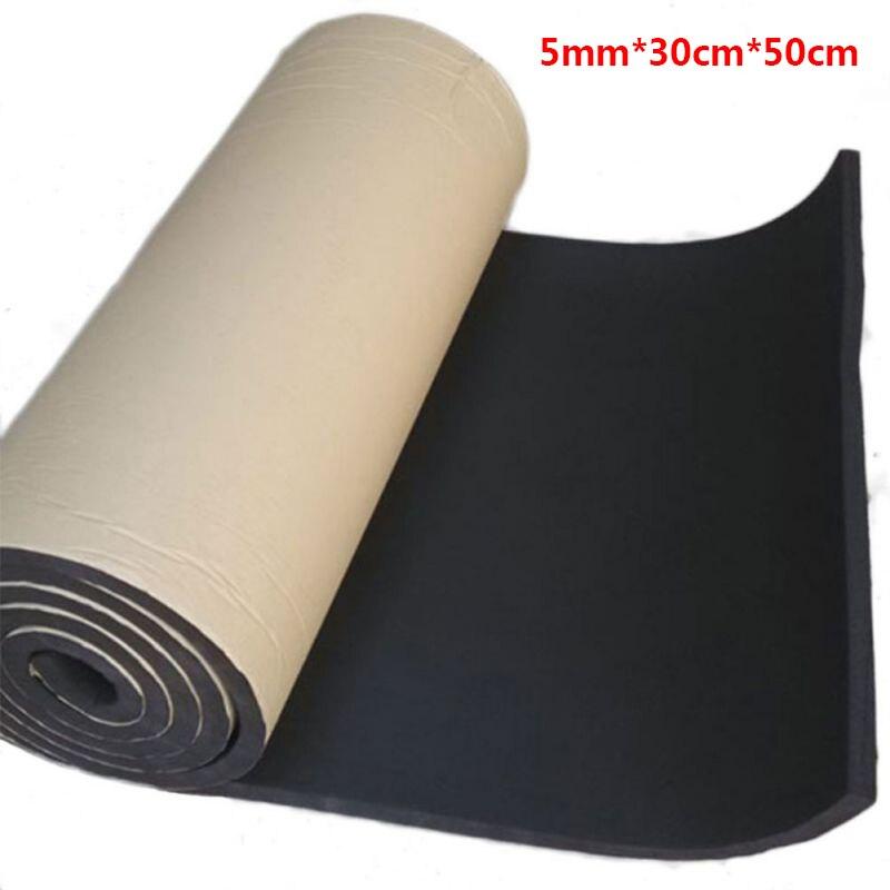 30x50 cm auto akustische schaum gummi sound isolierung auto lautsprecher schallschutz vibration isolation