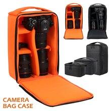 Многофункциональная водонепроницаемая сумка для цифровой фотокамеры DSLR, чехол для камеры Nikon Canon DSLR