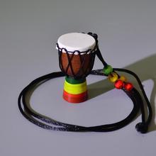 New Ethnic African Drum Pendant Classic Mini Tambourine Children Necklace Fashion Kids chain Jewelry Accessries
