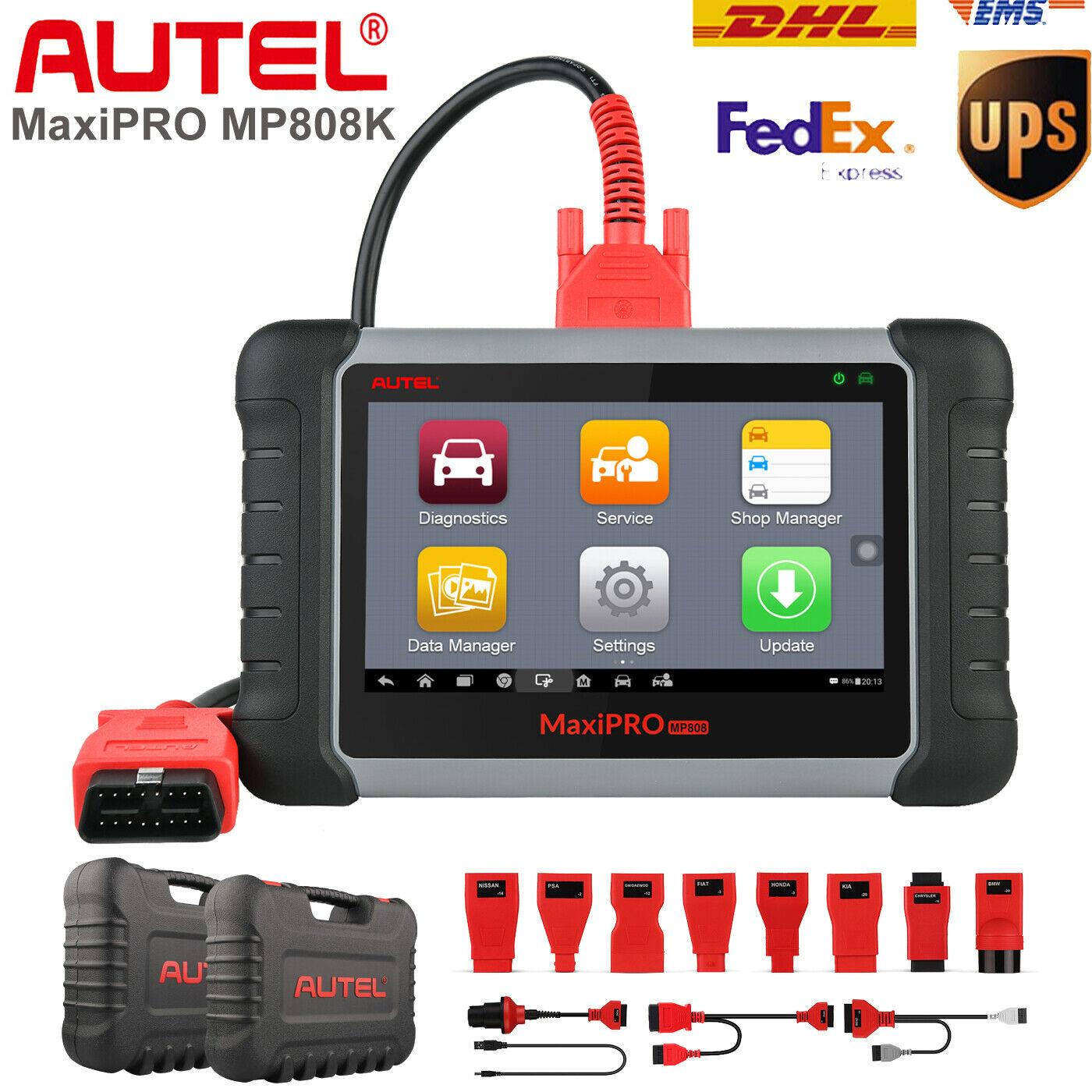 MaxiPRO-Escáner de diagnóstico automotriz, herramienta automática profesional para diagnosticar el coche, Autel...