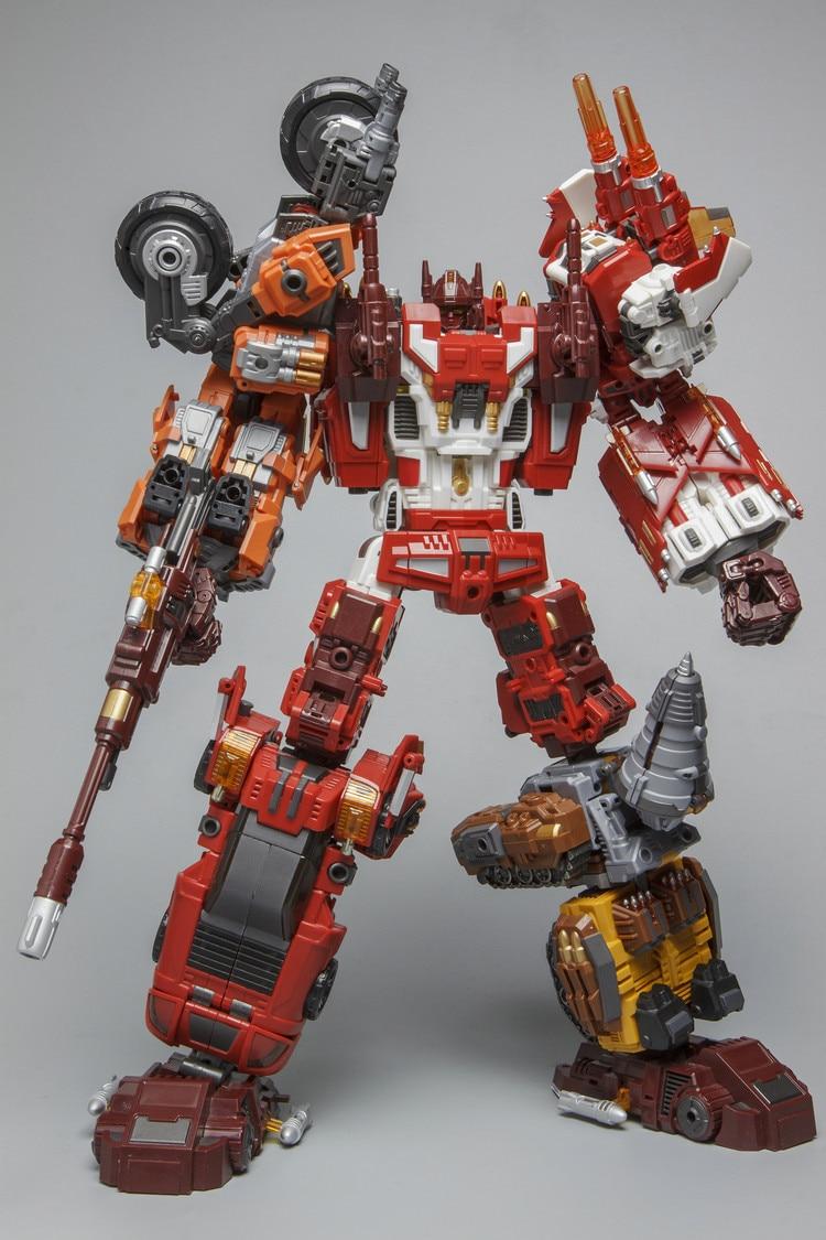 Robot juguetes transformación Warbotron Wb 03 carrera Computron 5 Cuerpo Conjunto reimpresión figura de acción