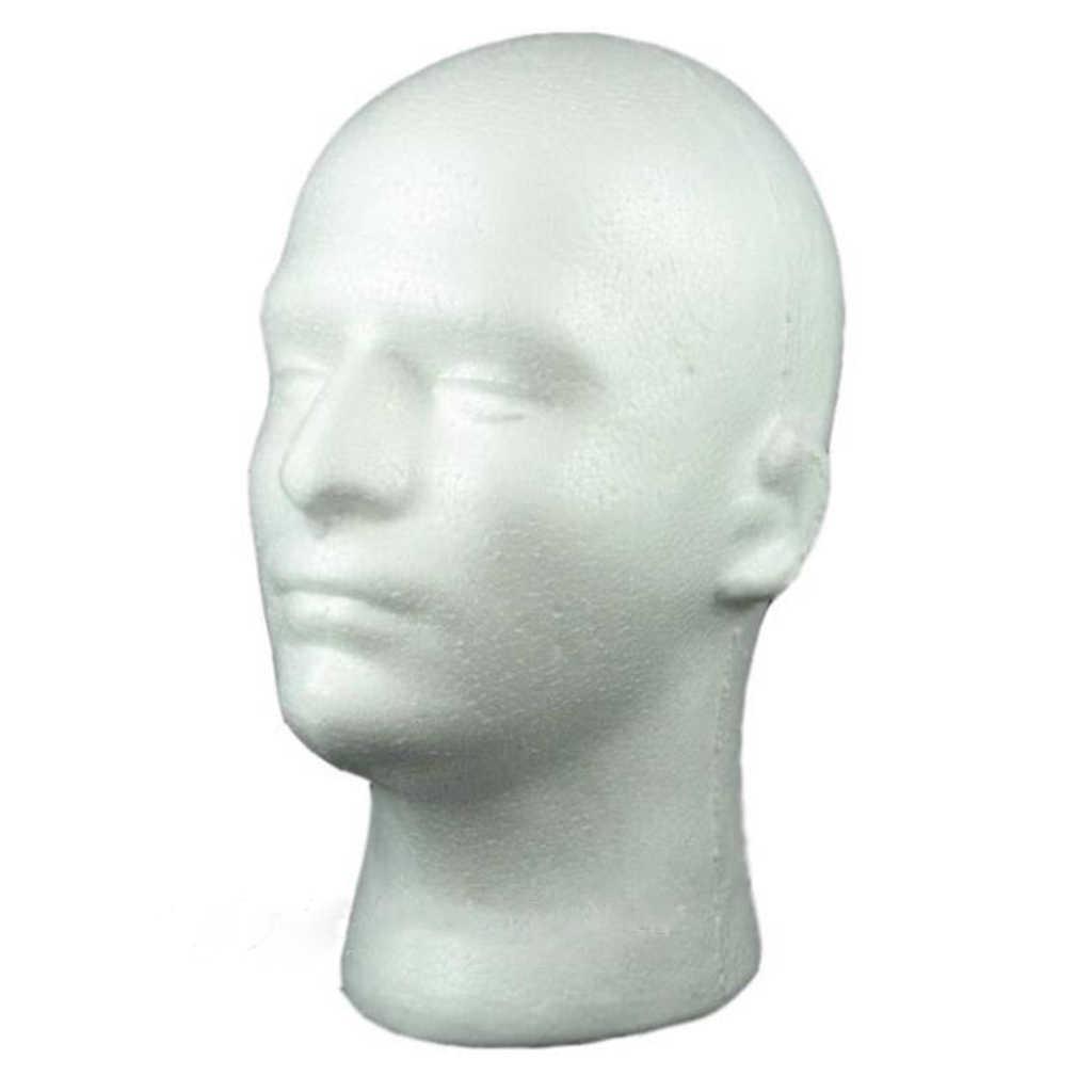 Female Male Mannequin Head White Polystyrene Styrofoam Foam Head Model Stand Wig Hair Hat Headset Display Stand Rack Aliexpress