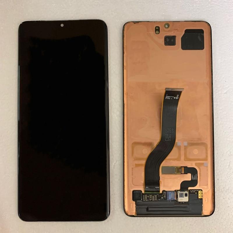 Оригинальный сенсорный дисплей Super AMOLED для Samsung Galaxy S20 + G985F S20Plus G985U G986F G986U, ЖК-дисплей с дефектами