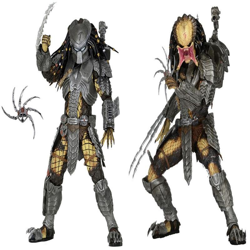 Depredador alienígena serie celta/cara de gato Guerrero móvil 18CM de alto 7...