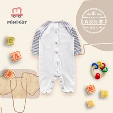 Baby's one piece clothes baby cartoon Romper new baby's outdoor clothes long sleeve climbing clothes