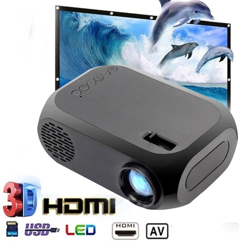 NEUE BLJ-111 LCD FHD Smart Projektor HD 3D 1920*1080P Mini Schnittstellen Projektor Unterstützung USB AV HDMI Film heimkino proyector