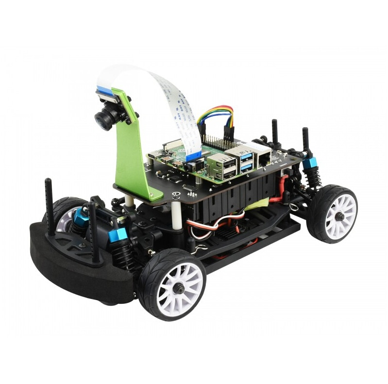 PiRacer Pro AI Kit/Acce , High Speed AI Racing Robot Powered by Raspberry Pi 4, Supports DonkeyCar Project, Pro Version
