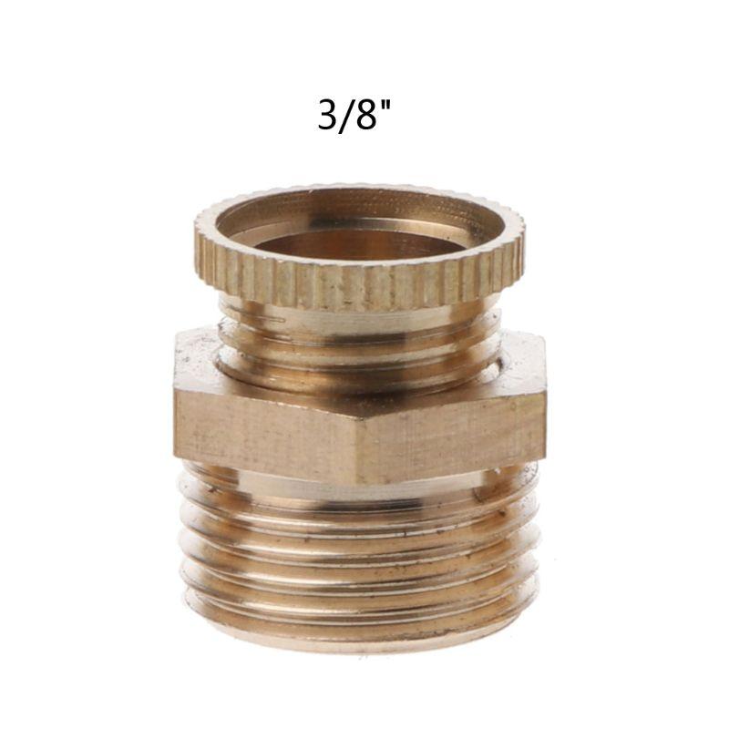 PT1/4  3/8  1/2 latón rosca macho compresor de aire válvula de drenaje de agua de repuesto 964E