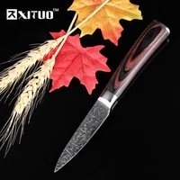 xituo kitchen knife 7cr17 high carbon steel chef knife japanese knife meat cleaver slicing santoku fruit paring utility knife