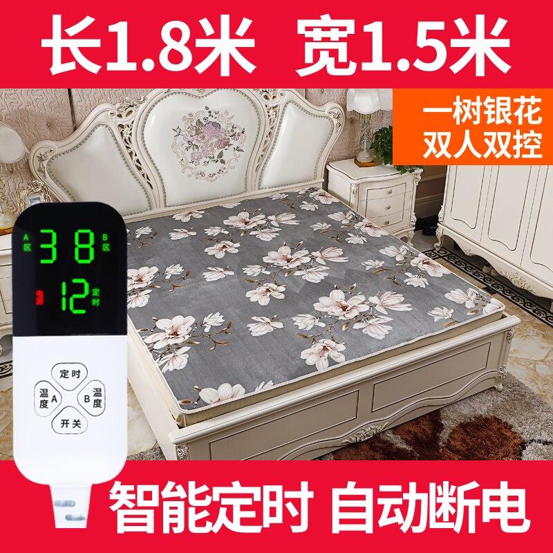 Heat Warm Blanket Electric Flanel Full Size Infrared Sauna Electric Blanket Heated Electrische Deken Body Warmer Bed EA6DRT enlarge
