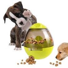 Interaktive Hund Spielzeug IQ Behandeln Ball Lebensmittel Abgabe Spielzeug Für Medium Large Hund Langlebig Kauen Ball Ungiftig Gummi Bouncy Hund ball SP