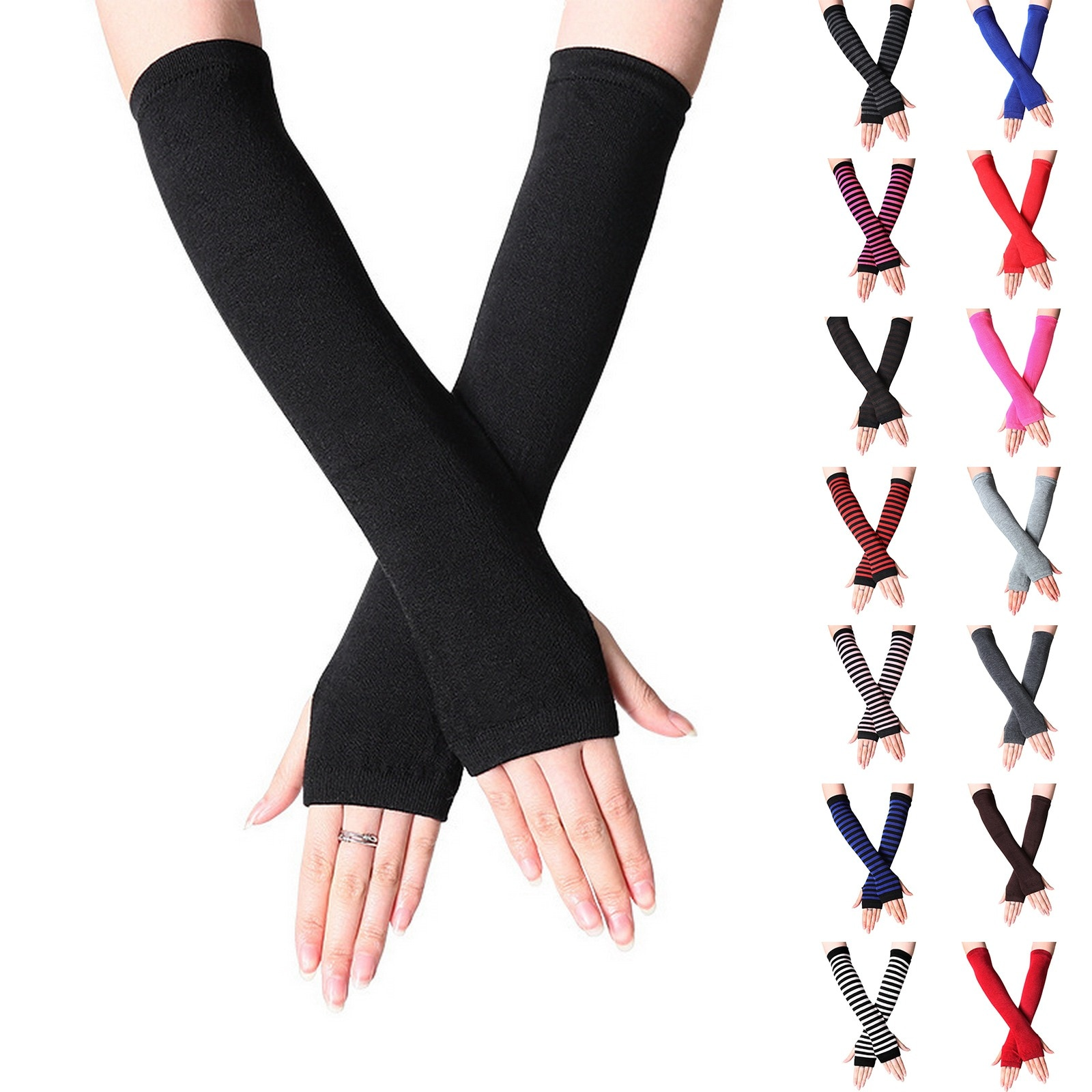 arsuxeo compression sleeves arm warmer running sleeves cycling sun uv protection for outdoor sport hiking ciclismo 1 pair 1 Pair Men Women Arm Sleeves Sun UV Protection Ice Cool Arm Cover Arm Warmers for Cycling Fishing Running Climbing Sport