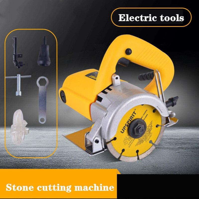 Household Tile Stone Cutting Machine Hydropower Slotting Machine Electric Tools Marble Cutting Machine