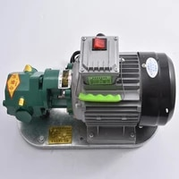 wcb 75 self priming gear oil pump portable cast iron high temperature electric gear pump 750w small high viscosity oil pump 220v