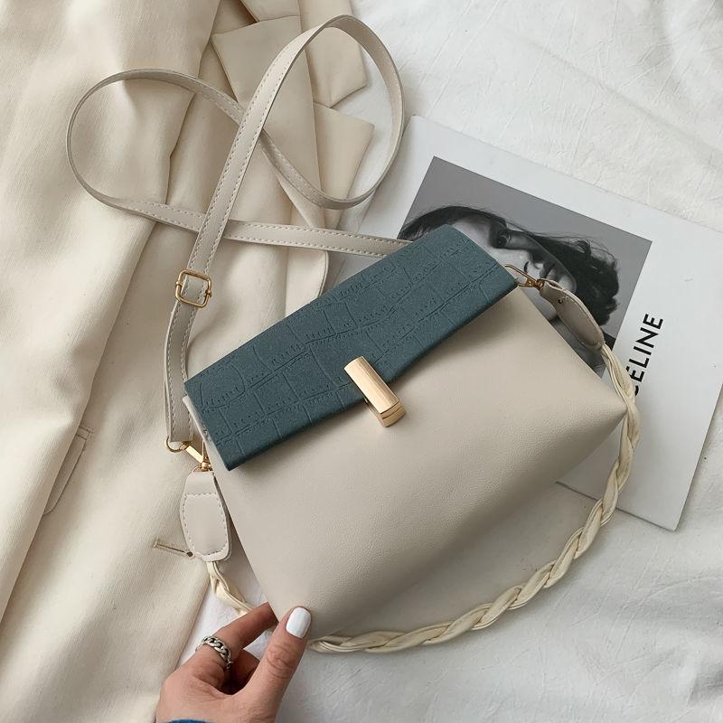 Shoulder Bags Crossbody Bags for Women Handbag Purse Fashion 2021 New Luxury Bag PU Leather Retro Ch
