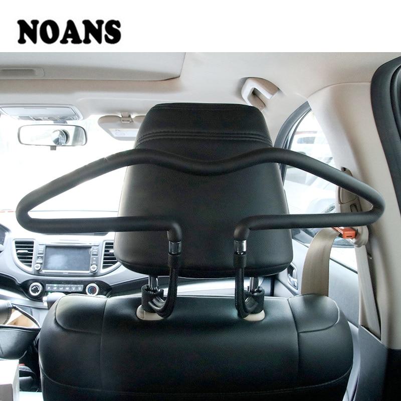 Araba arka koltuk kafalık yumuşak PVC vestiyer Hyundai I30 Creta Tucson BMW X5 E53 X6 VW Golf 6 7 GTI Kia Rio Sportage 2017