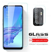 opo a53 s glass camera len protective glass for oppo a53 a53s a 53 2020 6.5'' cellphone screen prote