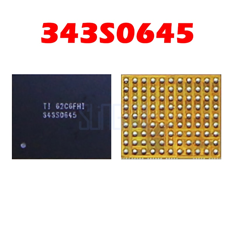 343S0645 100% New For iPhone 5S 5c Touch IC U15 black color Mobile phone integrated circuits Chipset